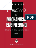 Dubbel-Handbook of Mechanical Engineering