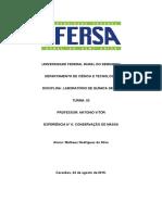 RELATORIO CONSEVAÇÃO DE MASSA.docx