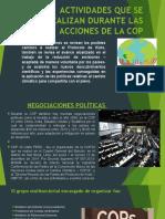 DIAPOSITIVAS ACCIONES DE LA COP