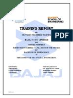 Final Bajaj Report