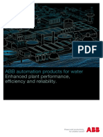 ABB Automation products for water