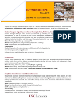 Grad Workshops Fall 16
