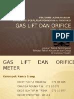 Gas Lift Dan Orifice Meter