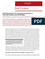 Chicago Fed Letter Essay on Fintech Cfl367-PDF