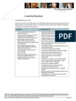 Cisco Aspire Learning Objectives 28Feb11