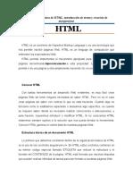 Estructura Básica de HTML