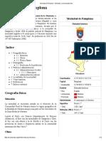 Merindad de Pamplona - Wikipedia, La Enciclopedia Libre