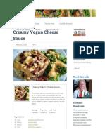 Creamy Vegan Cheese Sauce - BLOG.eatplant-Based