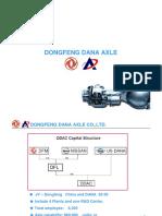 Dongfeng Dana Axle Company Presentation