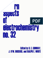 (Eds.) Conway B.E., Et Al., Modern Aspects of Electrochemistry v.32 [Kluwer, 2002]