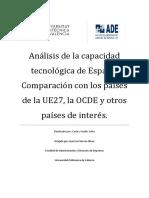 TFC - Análisis de la capacidad tecnológica de España. Comparación con los países de la UE27, la O.pdf