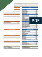 Calendario Solemnes y Examenes Semestre II-2016 Copia