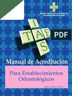 Manual Establecimientos Odontológicos