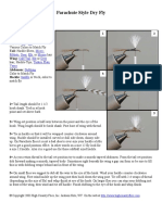(eBook) Fishing - Tying Instructions - Parachute Style Dry Fly