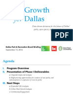 Where Dallas Needs Parks and Why