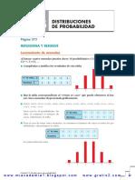 DistribucióndeprobabilidadSolucionesAnaya1ºbachilleratoT Www.gratis2.Com