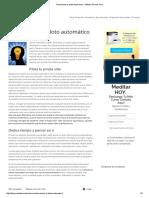 Desconecta El Piloto Automático - Método Silva de Vida