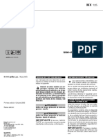 Manual Usuario Rieju Mx125 (03-10)