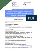 Programa XI Jornadas de Enseñanza de La Física