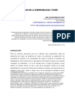 Matrices Sociales de La Gobernabilidad - Poder