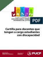 Cartilla Para Profesores de Derecho Sobre La Discapacidad - VF