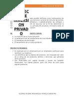 Los Proyectos de Uso Privados Pueden Definirse Como Instrumentos de Decisión