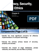CE2014_Chap09 - Privacy, Security, And Ethics