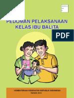 Pedoman Pelaksanaan Kelas Ibu Balita