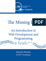 The Missing Link an Introduction to Web Development and Programming Epub