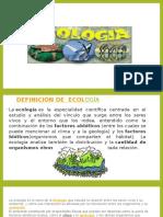 Conceptos Generales de Ecologia