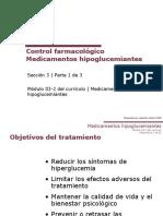 Control Farmacologico diabetes