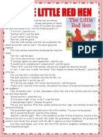 5 the Little Red Hen-report Speecch