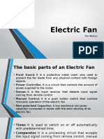 Electric Fan PPT