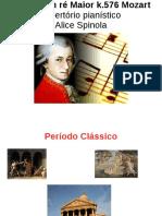 Repertorio Pianistico- Alice Spinola- Sonata k.576 Mozart