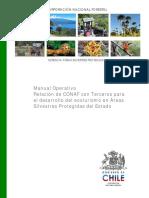 Manual Operativo Relación de CONAF Con Terceros Para El Desarrollo Del Ecoturismo en Áreas Silvestres Protegidas Del Estado