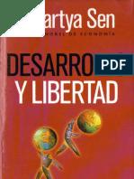 Desarrollo y Libertad Amartya Sen