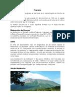 Generalidades de Granada, Nicaragua