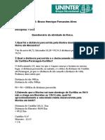 Arquivo Modelo Para Digitação Do Trabalho