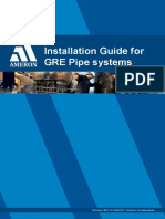 Installation Guide for GRE Piping