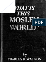 (1937) What is This Moslem World?
