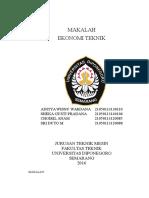 Kelompok 11 Aspek Dari Analisa Ekonomi Untuk Perusahaan Umum