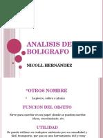 Analisis Del Boligrafo
