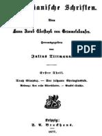 Simplicianische Schriften, Erster Theil (von 2)