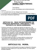 No. 3 Sanciones Administrativas Código Tributario