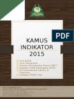 Cover Kamus Indikator 2015