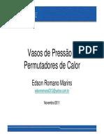 Vasos de Pressão e Permutadores de Calor_Eds on Romano_Nov2011