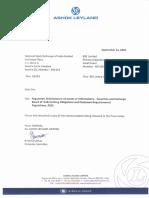 Amalgamtion of Hinduja Foundries Limited with Ashok Leyland Ltd [Company Update]