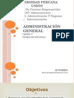 Administración General - Teoria de Sistemas