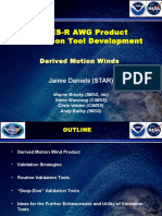 Winds Application Team Validation DMW