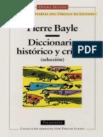 Bayle, Pierre - Diccionario histórico y crítico (selección).pdf